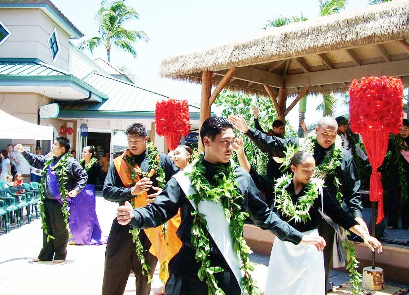 hula dance kohala coast hawaii