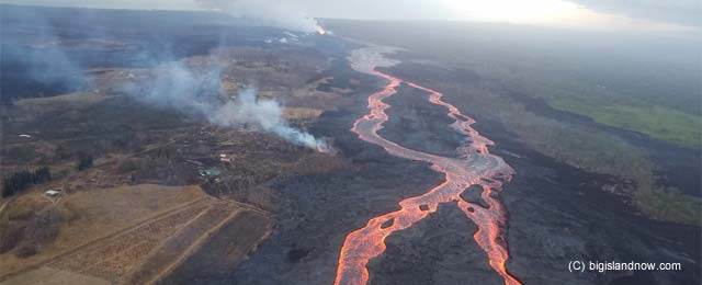 hawaii lava flow update